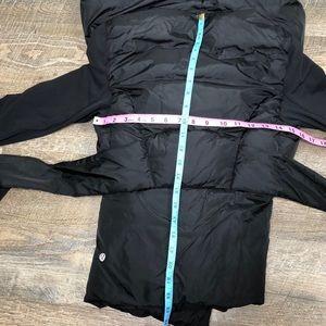 lululemon athletica Jackets & Coats - lululemon Down to the Studio Jacket Black Down 8